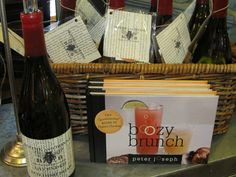 """Boozy Brunch"" and Soap in a wine bottle!    www.sophiesshoppe.com"