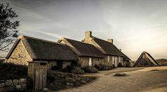 le hameau de Kerlouan (Finistère), en Bretagne. Photo: Cédric Mirail