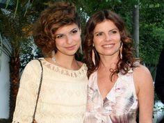 Débora Bloch e filha
