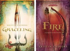 These two books by Kristin Cashore are so different but connect to each others worlds in a great way. They are both wonderful wonderful stories.