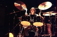 Phil Rudd kept time on the back of every note - probably better than any other rock drummer in history.