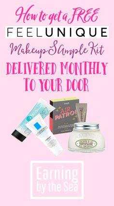 Free make-up samples from Feel Unique! #free #makeup #lifehack #money #ukmoneyblog #pbloggers #lbloggers