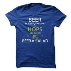 Beer = Salad