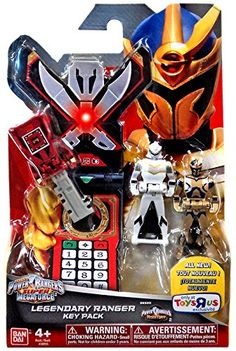 Amazon.com: Power Rangers Super Megaforce Legendary Ranger Key Pack Roleplay Toy [Mystic Force]: Toys & Games