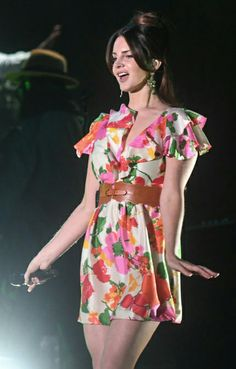 Lana Del Rey performing at the Corona Capital Festival in Mexico City #LDR