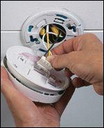 remove the old firex smoke alarm model 120 1182 smoke alarm pinterest smoke alarms and. Black Bedroom Furniture Sets. Home Design Ideas