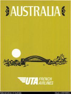 Australia: UTA French Airlines. 197?. via National Library of Australia