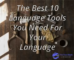 The Best 10 Language Tools