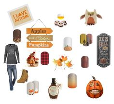 """""""Autumn"""" by conniepatterson on Polyvore featuring Fantastic Craft, Woof & Poof, Bergdorf Goodman and Crate and Barrel"""