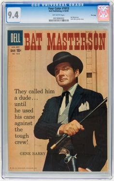 Gene Barry's Bat Masterson TV Show Collectibles Values