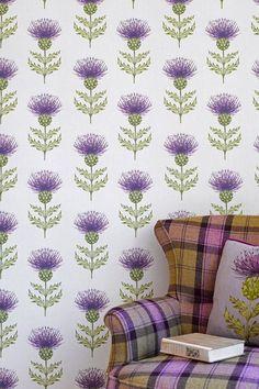 Voyage Decoration Nessy Juniper - Wallpaper Ideas & Designs (houseandgarden.co.uk)