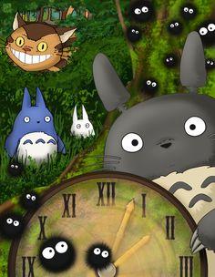 Totoro!   More of my stuff @ enerjax.tumblr.com :)