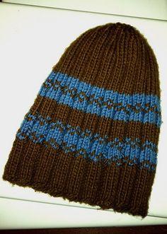 Free Pattern: Brandon Ribbed Beanie Hat