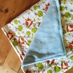 How to make a baby blanket in 30 minutes!