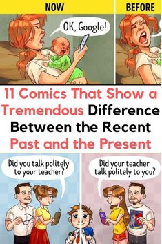 11 Comics That Show a Tremendous Difference Between the Recent Past and the Present Elle Fanning, Latest Updates, Mom And Dad, Gossip, Fun Facts, Dads, Public, Presents, Celebs