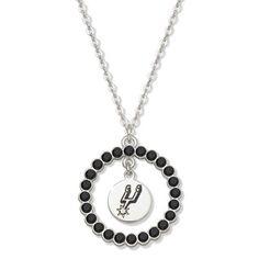 San Antonio Spurs Spirit Crystal Necklace