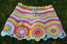 Crochet skirt Gehaakt rokje