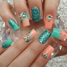 Under the sea nails