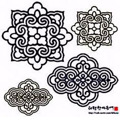 Corean patterns.