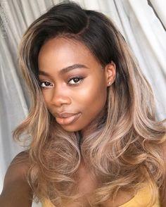 "Lake Sanu Hair & Makeup on Instagram: ""C O C O A G L A M WIG @LakeSanu Lace…"