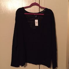 Black sweater I am selling a black sweater from Lane Bryant, size 26/28. It is NWT. Lane Bryant Sweaters