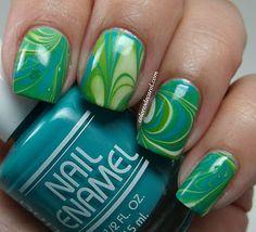 green watermarble