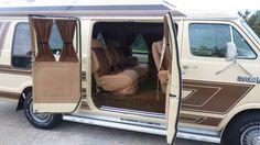 1985 Dodge Ram 250 Custom Hightop Extended Van Prospector Package - Custom Van-Low Miles $2900