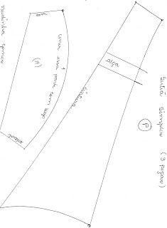 Neidinha Lingeries e Costuras em geral: Sutiã Simples P  (molde em PDF) pra imprimir . Use...