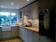 Our Burford Grey kitchen from Howdens is finally finished.Other pictures to follow .