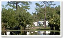 Wickham Park & Campground - 21 a night - 25% Off 30 or more days in a row paid in advance - 2 swimming lakes - Dog Park