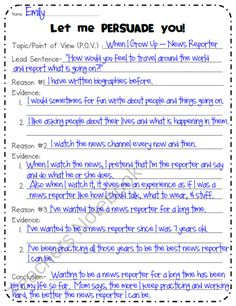 Persuasive writing starting words that you will find easy to ...