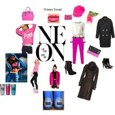"""""""NEON WINTER BRIGHT"""" by elaine02132 on Polyvore"""