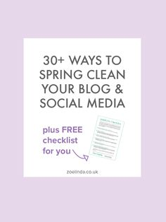 From your Facebook page's cover photo to all those badges in your blog's sidebar, everything can get quite messy over the year - so I'm going to help you get your act together and spruce everything up! Grab the virtual polish and the rubber gloves, we're going to brush the dust off your blog!