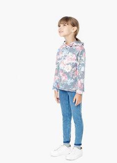 Suéter estampado floral | MANGO KIDS
