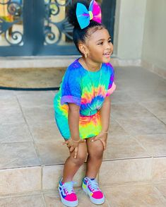 Cute Mixed Babies, Cute Black Babies, Beautiful Black Babies, Cute Baby Girl, Black Little Girls, Cute Little Girls Outfits, Kids Outfits Girls, Toddler Outfits, Little Girl Swag