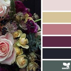 today's inspiration image for { flora palette } is by @fairynuffflower ... thank you, Steph, for another gorgeous #SeedsColor image share!