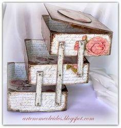 Variaciones sobre las cajas de fresa/ Wariacje na temat skrzynek po truskawkach | Manualidades