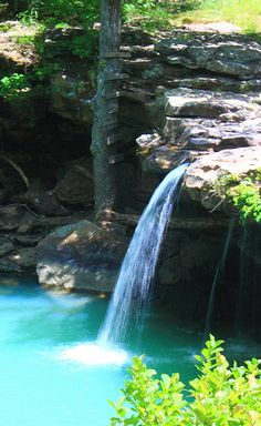 Falling Waters Falls - Pope County, Arkansas