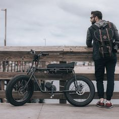 Fancy - Lithium Cycles Super 73 Electric Minibike