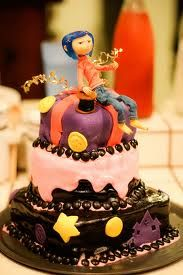 Cake Arts Jeddah : Such a cute cake!! Big fan of Coraline Jones!!! Cute ...