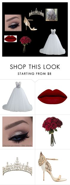 """""""wedding"""" by quinette-71 on Polyvore featuring Sophia Webster, women's clothing, women, female, woman, misses and juniors"""