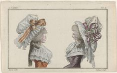 Het eerste modetijdschrift, A.B. Duhamel, Buisson, 1786