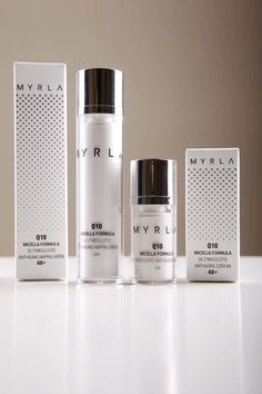 MYRLA - brand new professional product line. on Packaging Design Served Skincare Packaging, Tea Packaging, Bottle Packaging, Beauty Packaging, Cosmetic Packaging, Inspiration Wand, Medicine Packaging, Makeup Package, Cosmetic Bottles