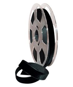 Another great find on #zulily! Black Swiss Velvet 0.63'' Ribbon #zulilyfinds