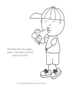Healthy Habits Worksheets for Kids