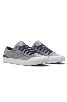 Huf | The Classic Lo Sneaker in Navy Dot