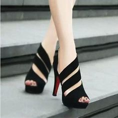 HOT Women Summer Hollow out Platform Open Toe Shoes High Heel Ankle Boots Shoes