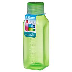 Buy Sistema 475ml Square Bottle, Assorted Colours Online at johnlewis.com £5