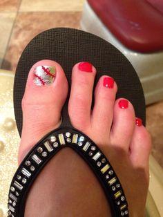baseball toes style