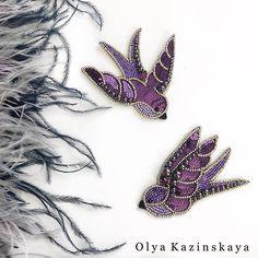 WEBSTA @kazinskaya_brand Милая парочка 💜Распахнула одна ласточка крылья и абсолютно ‼️свободна😊 3000₽